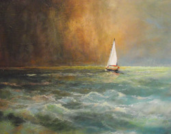 Sailing Up The West Coast (Sold)
