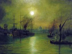 Thames after Grimshaw (Sold)