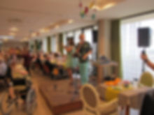 Evénements à la Maison de retraite (EHPAD) de St Julien de Concelles. A proximité de Nantes, Thouaré sur Loire, Le Loroux Botterau - loire Atlantique 44