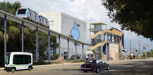Miami Design District Transit Station
