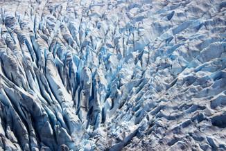 Mendenhall Glacier Detail