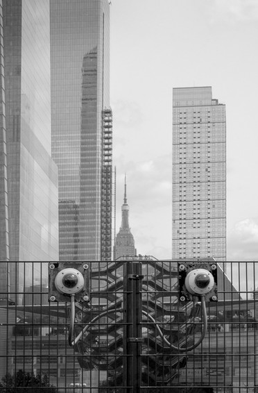 The Vessel is Always Watching, Hudson Yards, New York
