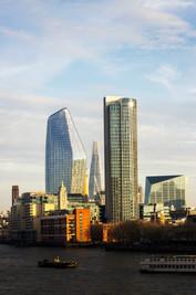 One Blackfriars, The Shard & South Bank Tower, London, United Kingdom