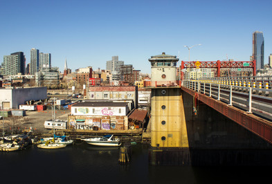 Pulaski Bridge, Long Island City, Queens, NY