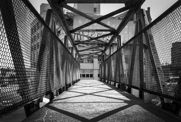 21st Street Pedestrian Bridge, Long Island City, Queens, NY