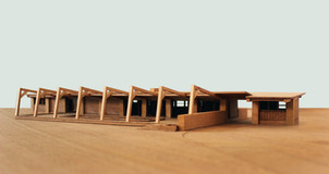 Model of Litsey Residence