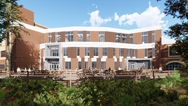 UCF Student Union Expansion, Designed by Zyscovich Architects
