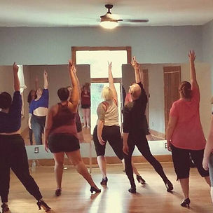 The Atlanta School of Burlesque class