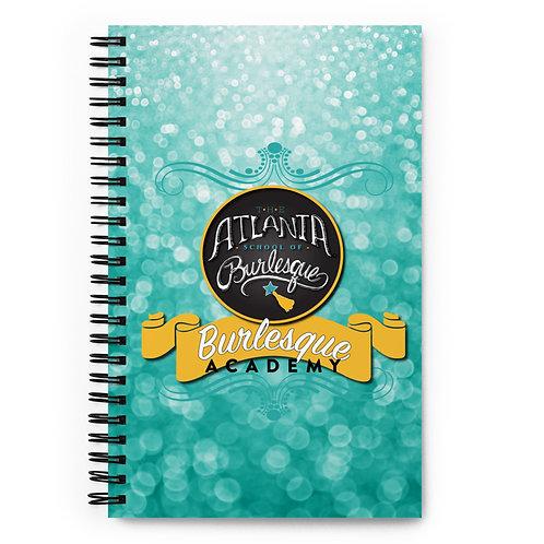 Burlesque Academy Notebook