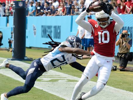 Cardinals Titans Week 1 Recap: Pain