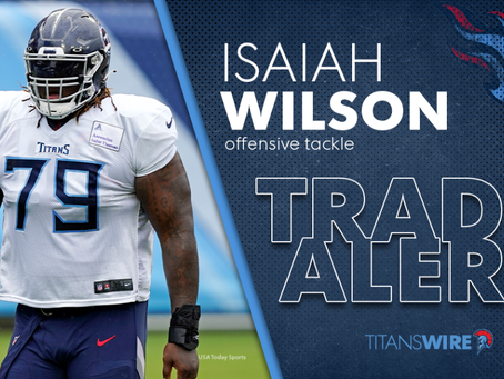Titans Trade 2020 First Round Pick Isaiah Wilson to the Dolphins!