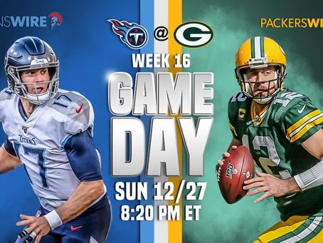 Titans vs. Packers - Week 16 Recap - Titans Slip on the Frozen Tundra