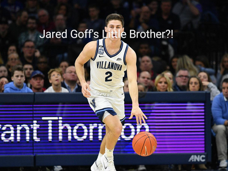 Separated at Birth? Are Jared Goff and Collin Gillespie Brothers?