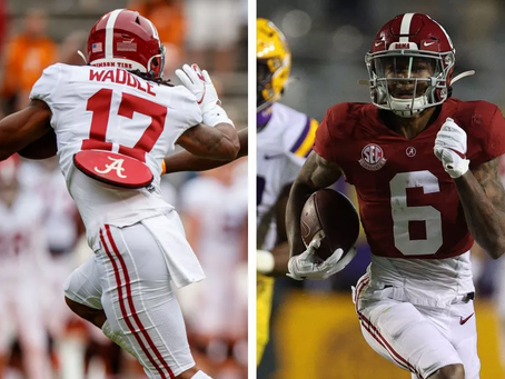 Wide Receivers in the 2021 NFL Draft - Ranking Yet Another Historic Class