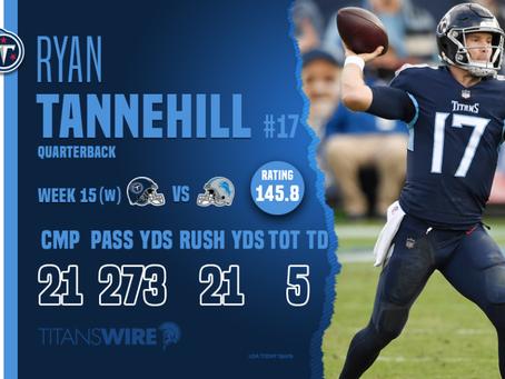 Lions vs. Titans - Week 15 Recap - Ryan TanneThrill!