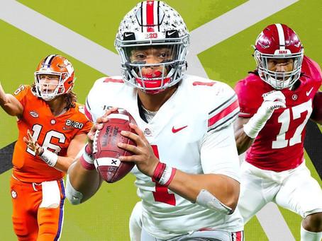 2021 NFL Draft Prospect Rankings