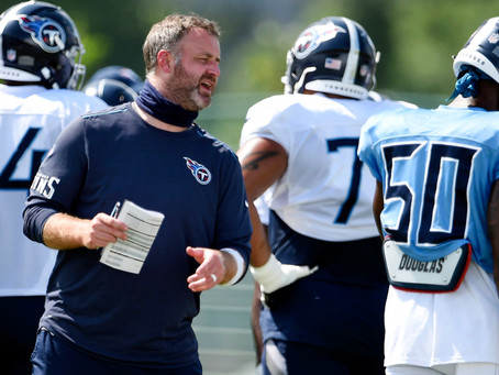 Mike Vrabel Names New Titans Coordinators - Really, Mike, Really?