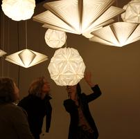Folded Light Art at John Waldron, 2013