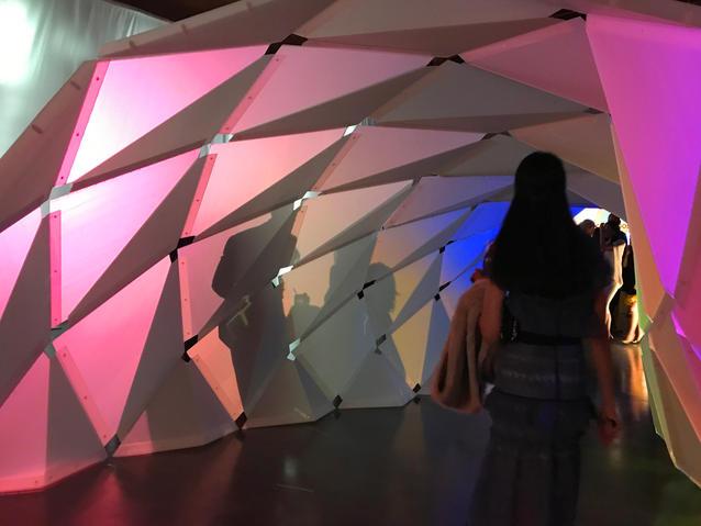 Installation at 3Labs, Culver City, California