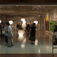 Folded Light Art at Toyota City, 2015