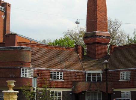 Eclectic low income housing by Dutch Jewish architect Michel de Klerk.