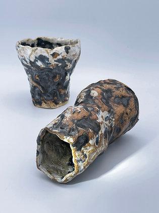 Flower Cone Vase/ Set of 2