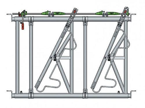 Safety IV Fressgitter 2 Fressplätze, 1,6 m