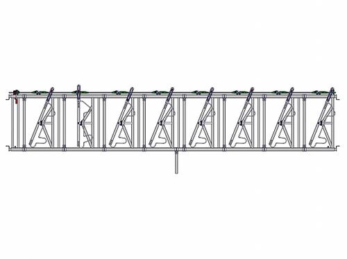 Safety IV Fressgitter 8 Fressplätze, 6,0 m