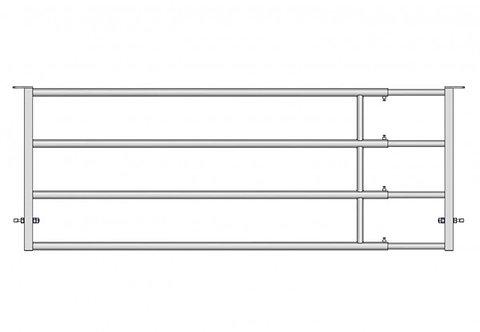 Abtrennung EX4 3-4 m