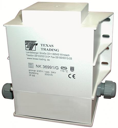 Transformator 200 W für 24-V-Heizung