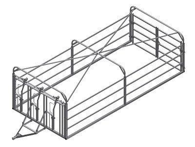 Treibwagen Grundrahmen 5 m
