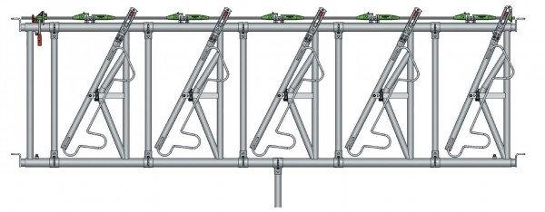 Safety IV Fressgitter 5 Fressplätze, 4,0 m