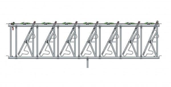 Safety IV Fressgitter 7 Fressplätze, 4 m