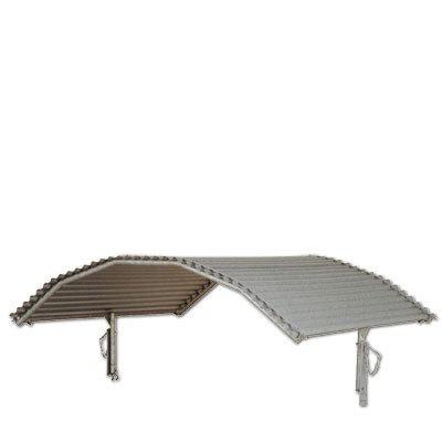Dach für Rundraufe