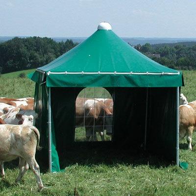 Bogenfenster für Weidezelt (Aufpreis)
