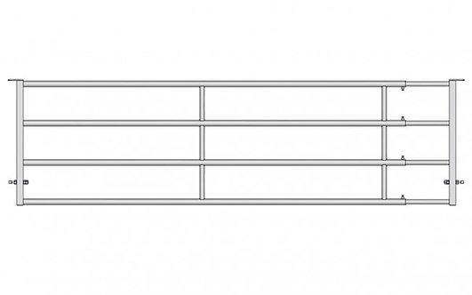 Abtrennung EX4 4-5 m