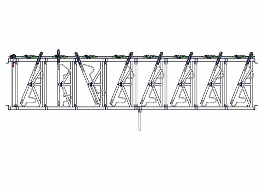 Safety IV Fressgitter 8 Fressplätze, 5,0 m