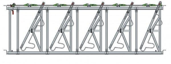 Safety IV Fressgitter 5 Fressplätze, 3,4 m