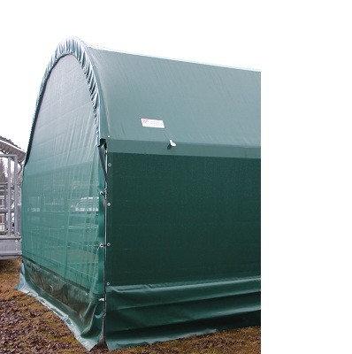 Windschutzrückwand Panelzelt