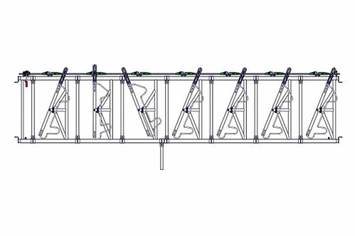 Safety IV Fressgitter 7 Fressplätze, 4,0 m