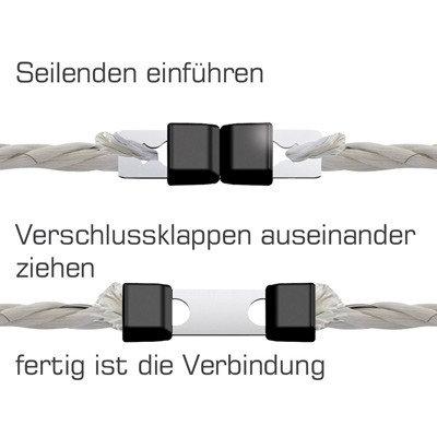 Schnellverbinder Seil