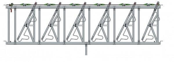 Safety IV Fressgitter 6 Fressplätze, 4,4 m