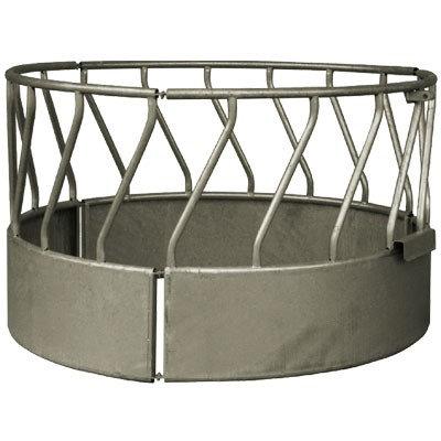 Rundraufe mit schrägen Gittern