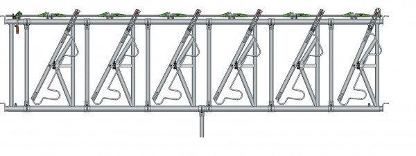 Safety IV Fressgitter 6 Fressplätze, 5,0 m