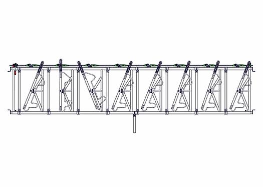 Safety IV Fressgitter 8 Fressplätze, 5,4 m