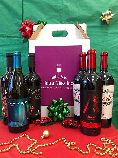 Gift #1 | Organic Greek Wines |  Mixed Case