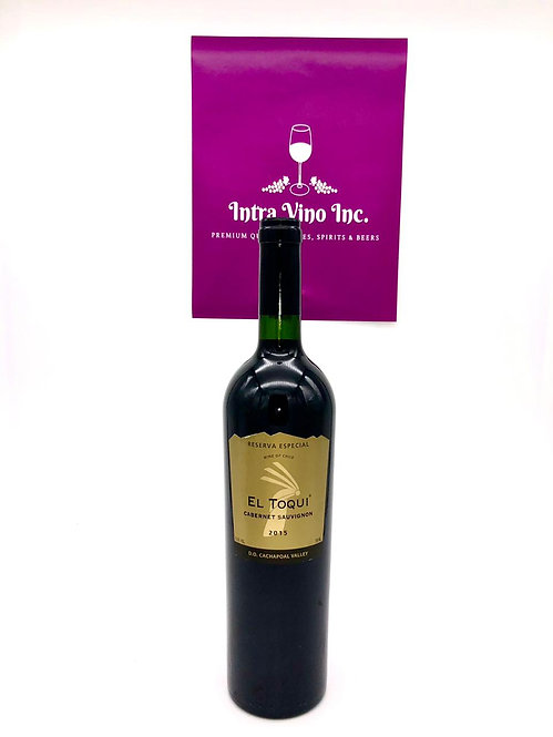 El Toqui Cabernet Sauvignon in original packaging