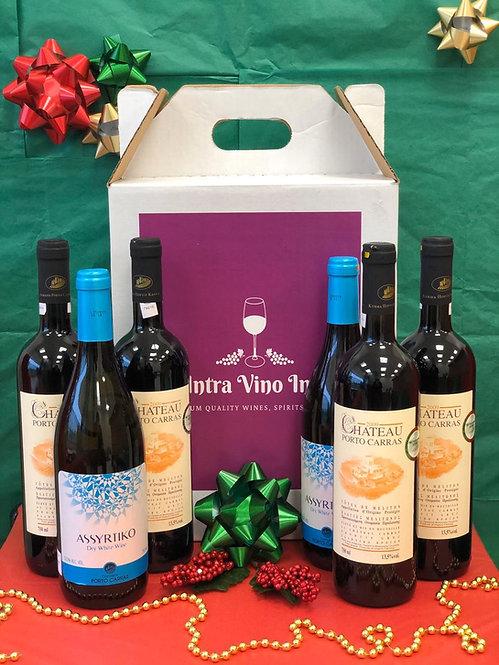 Gift #6 | Organic Greek Wines | Mixed Case