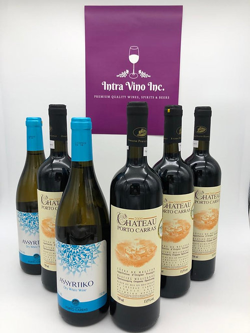 Gift #10 | Organic Greek Wines | Mixed Case