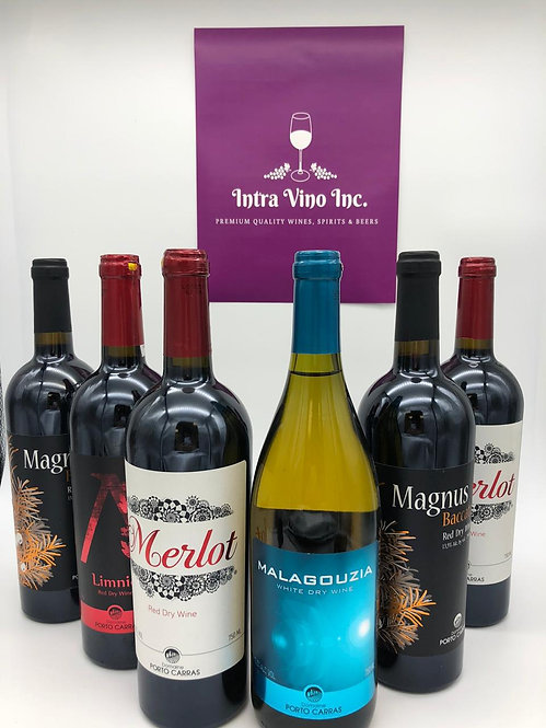 Gift #5   Organic Greek Wines    Mixed Case